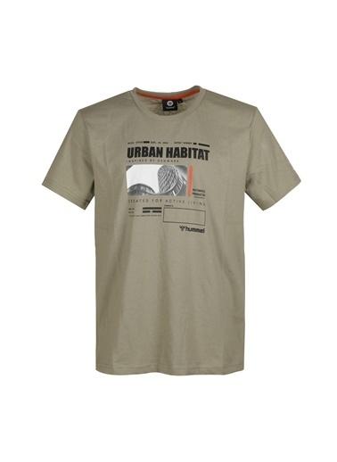 Hummel Erkek Tişört Urban 911369-8062 Yeşil